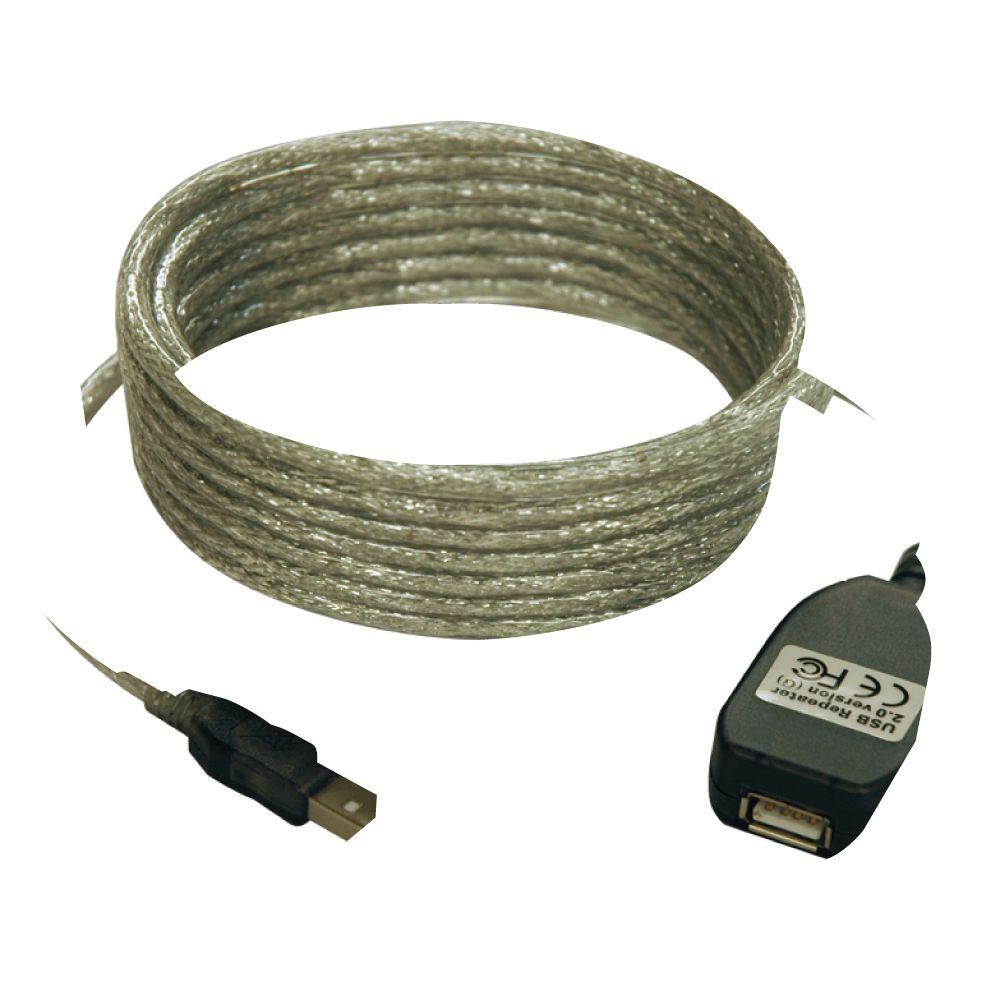 Tripp Lite 16 Ft Usb20 A Active Extension Cable Usb Male Or 2 0 Wiring