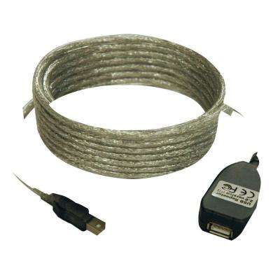 16 ft. USB2.0 A/A Active Extension Cable USB-A Male or Female