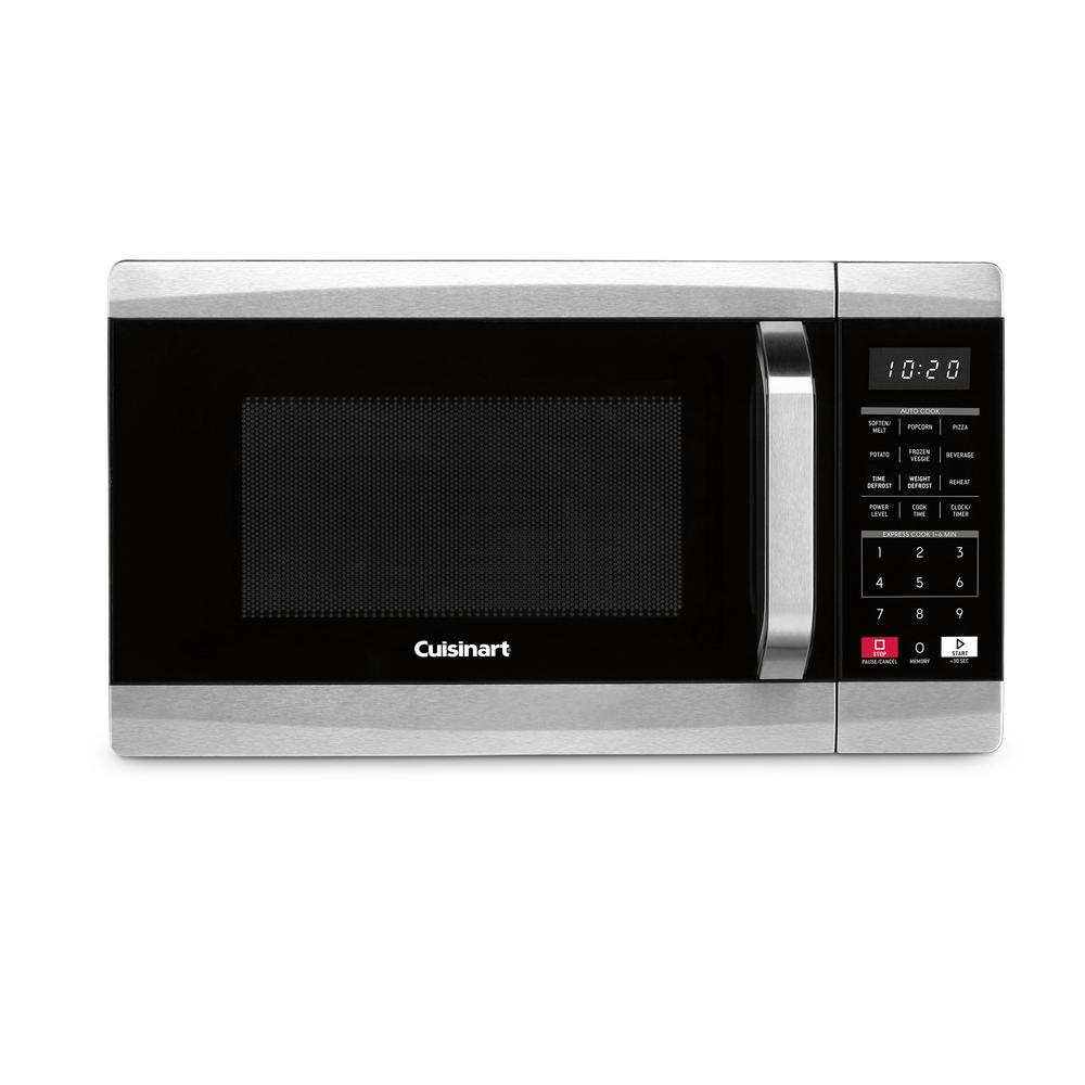 Cuisinart 0.7 cu. ft. 700-Watt Countertop microwave in Black and Stainless Steel