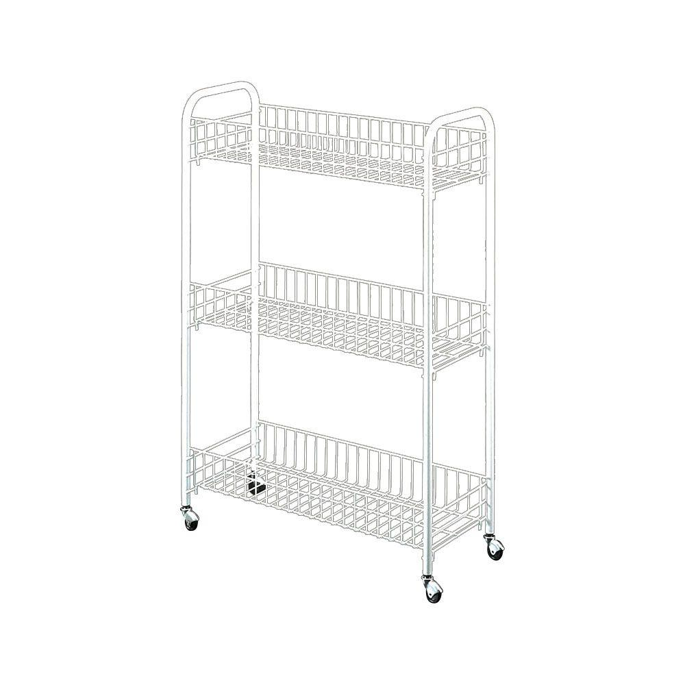 Wire World 22 In Slim Line Utility Cart 34 14 03 The