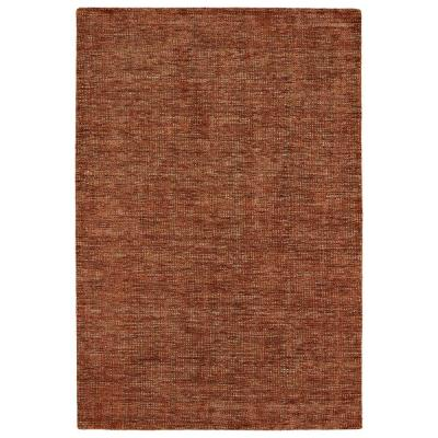 Dexter 1 Paprika 3 ft. 6 in. x 5 ft. 6 in. Area Rug