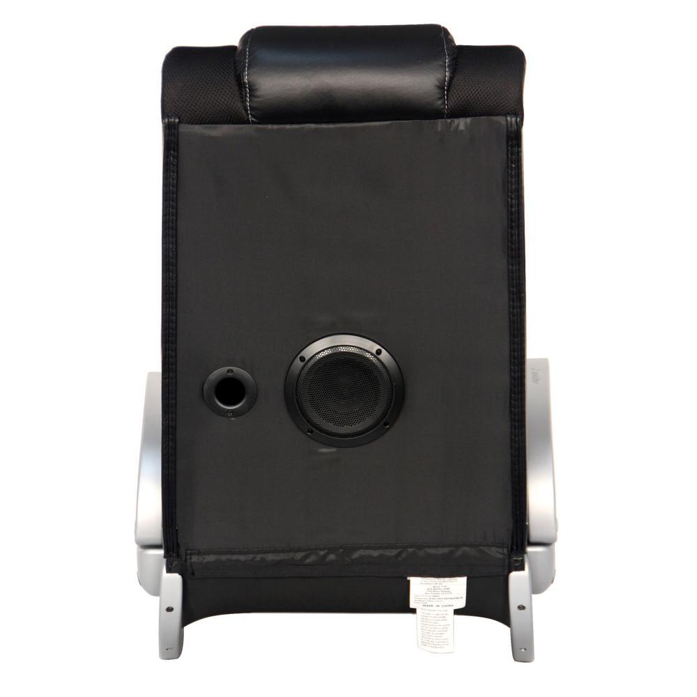 Magnificent X Rocker Ii Black Vinyl Wireless Audio Rocking Chair 5127301 Machost Co Dining Chair Design Ideas Machostcouk