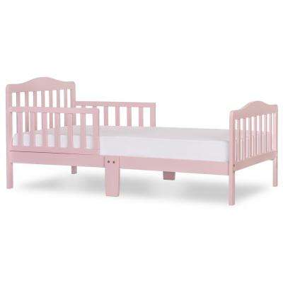 Classic Design Blush Pink Toddler Bed