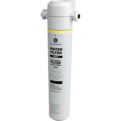 In-line Water Filtration System for Refrigerators or Icemakers