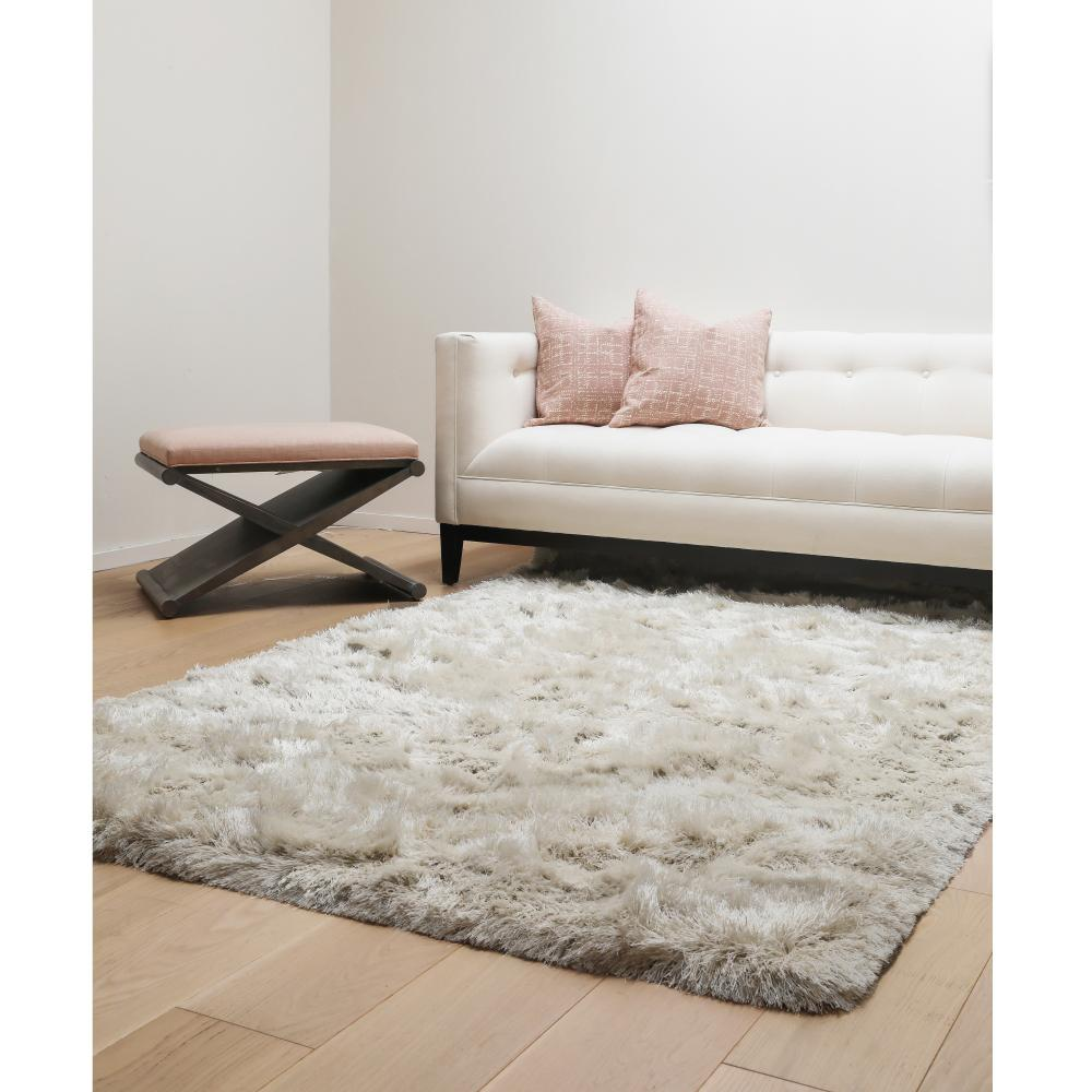 Luxe Ivory 8 Ft X 10 Area Rug