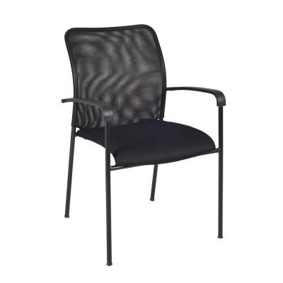 Mario Black Stack Chair