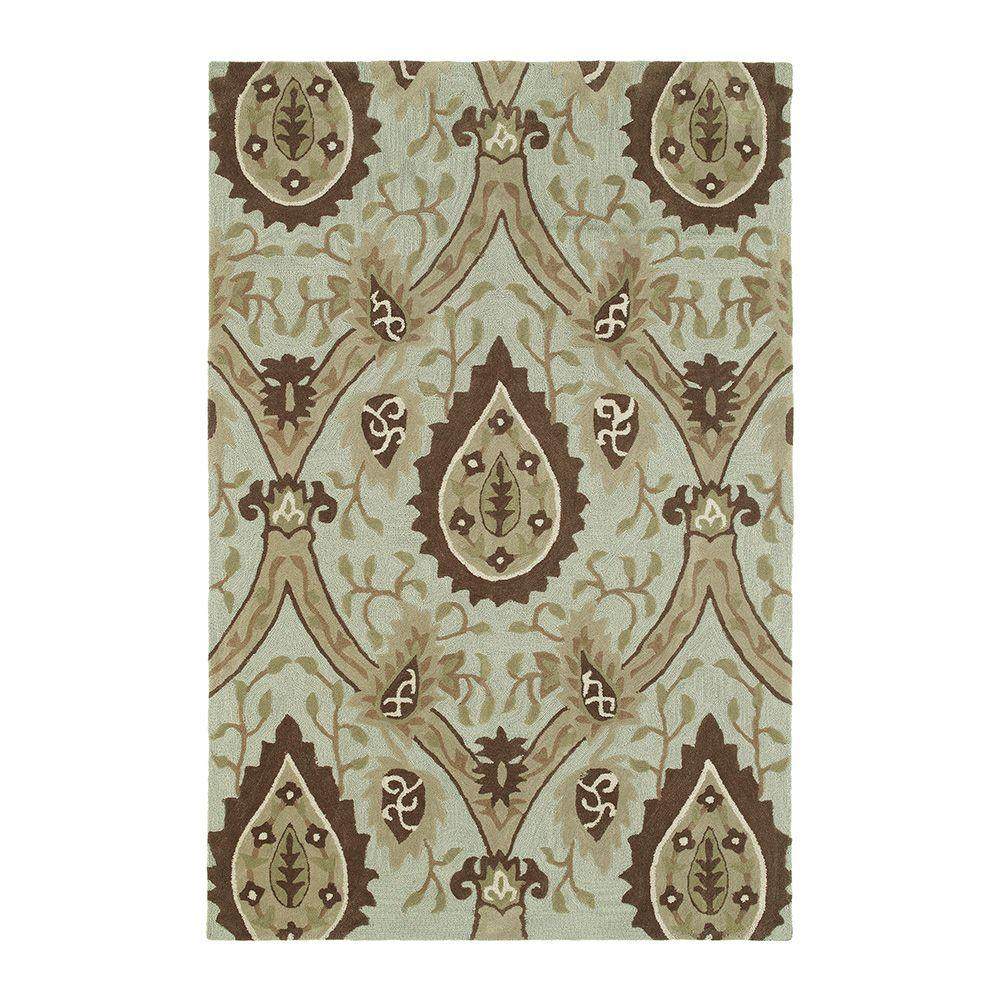 Kaleen Crowne Oberon Spa 5 ft. x 7 ft. 6 in. Area Rug-DISCONTINUED