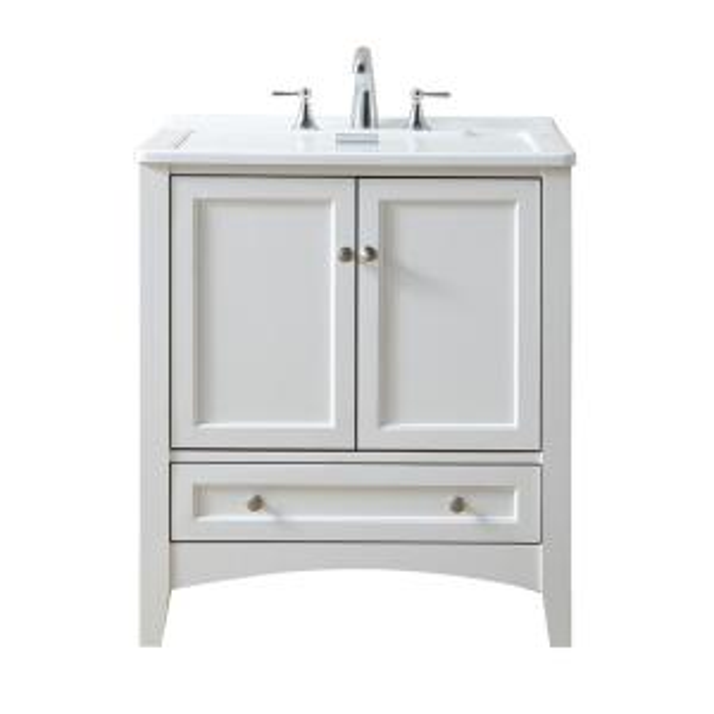 stufurhome 30.5 inch x 22 inch Acrylic Undermount Laundry/Utility Sink by stufurhome