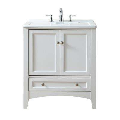 30.5 in. x 22 in. Acrylic Undermount Laundry/Utility Sink