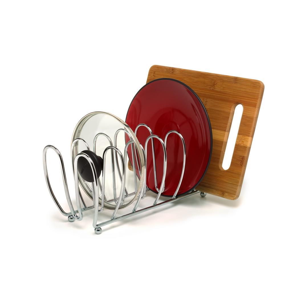 Bloom Steel 5.5 in. x 5.25 in. x 13 in. Kitchen Organizer in Chrome