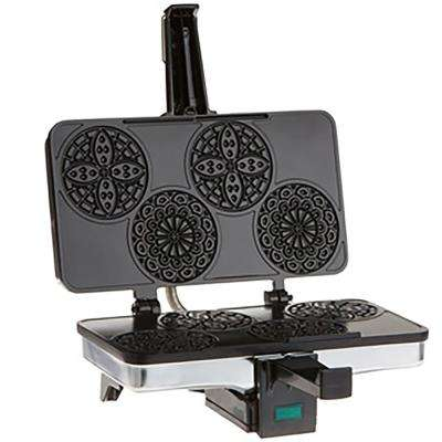 Piccolo Mini Pizzelle Baker in Stainless