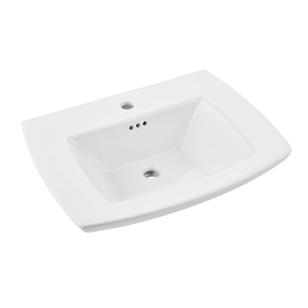 Edgemere Pedestal Sink Center Hole Only American Standard