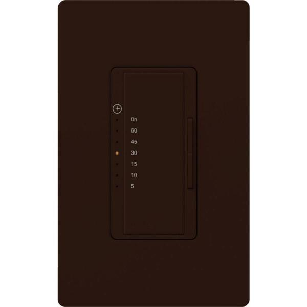 Maestro 600-Watt/VA Multi-Location/Single-Pole Countdown Timer Switch - Brown