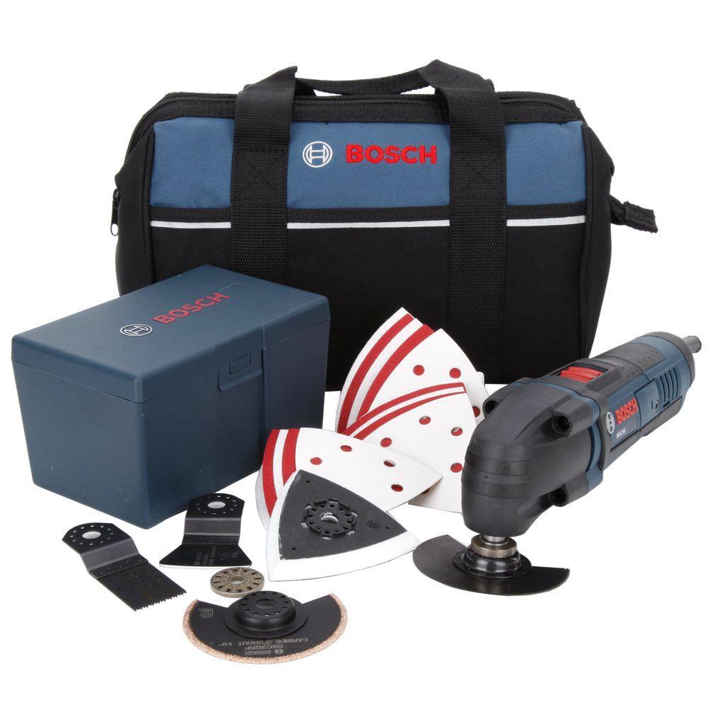 Bosch 2.5-Amp Corded Oscillating Multi-Tool Kit