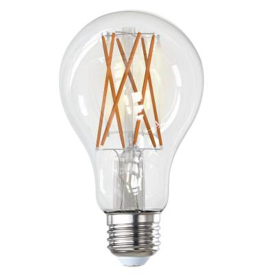 100-Watt Equivalent A21 Clear Dimmable Edison LED Light Bulb Warm White (2-Pack)