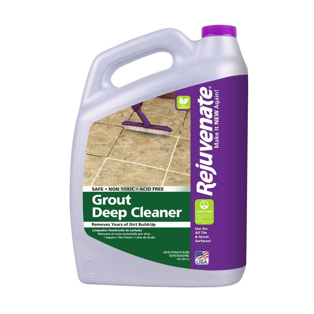 Tile Grout Cleaners Bathroom Cleaners The Home Depot - Cleaning agent for tiles