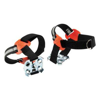 Trex XL Black Strap-On Heel Ice Traction Device