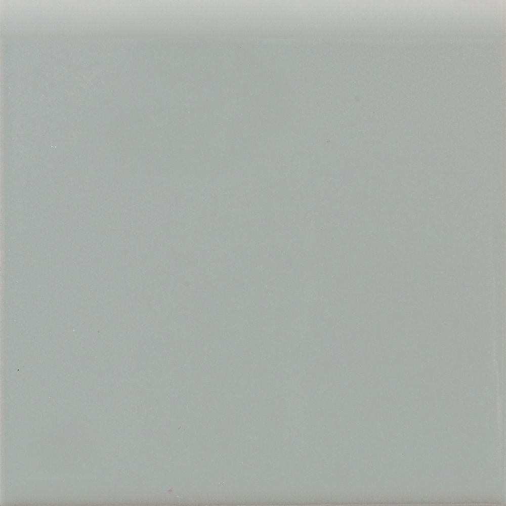 Matte Desert Gray 4-1/4 in. x 4-1/4 in. Ceramic Surface Bullnose