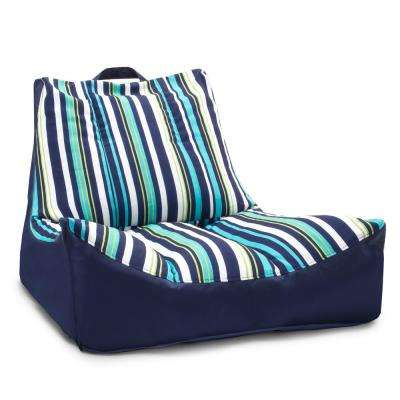 Captain's Float Cool Cozumel Stripe Sunmax Pool Chair