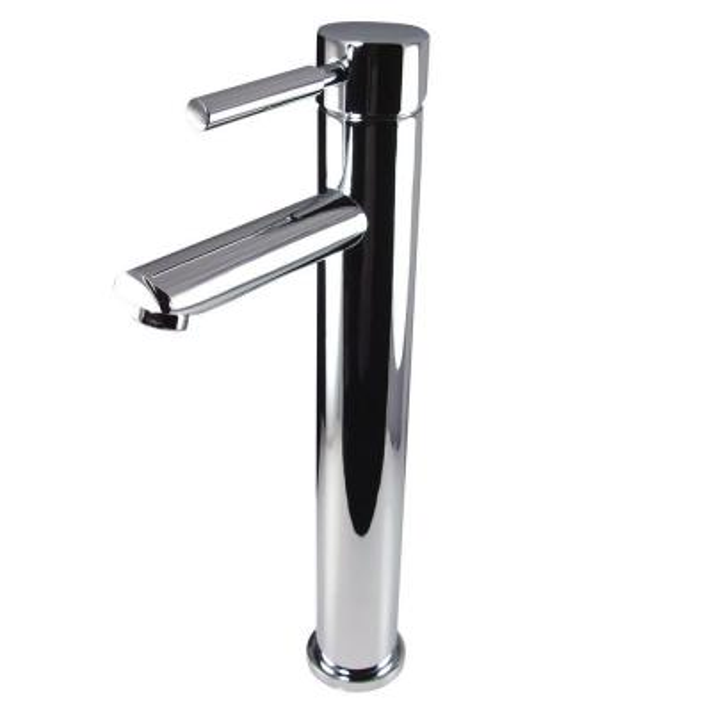 Tolerus Single Hole 1-Handle Vessel Bathroom Faucet in Chrome