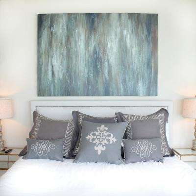 "54 in. x 44 in. x 2 in. ""Moonlight"" by Unnamed Artist Hand Painted Canvas Wall Art"