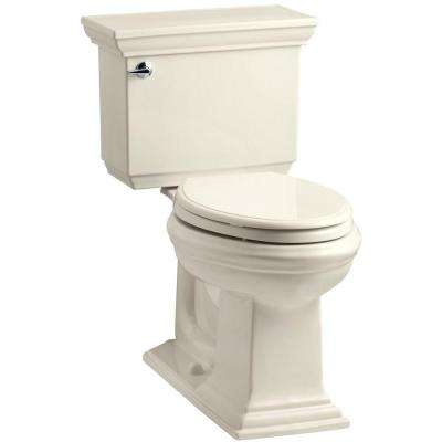 Memoirs Stately 2-piece 1.6 GPF Single Flush Elongated Toilet with AquaPiston Flush Technology in Almond