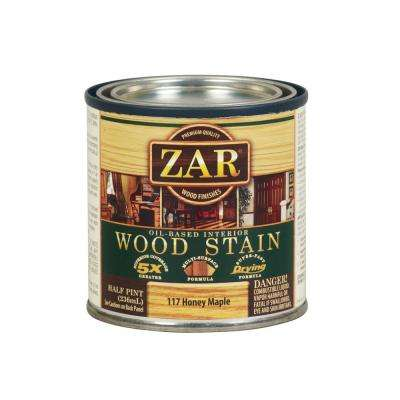 117 0.5 pt. Honey Maple Wood Stain (2-Pack)