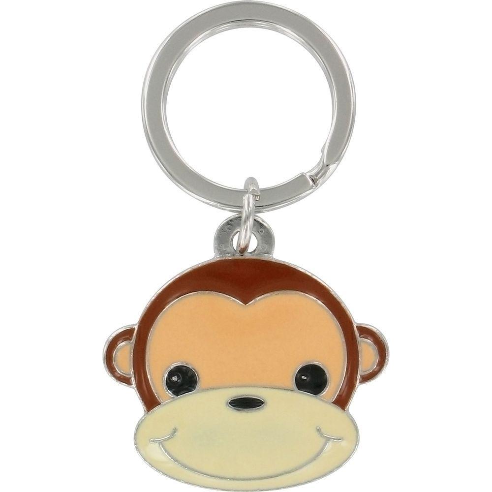 The Hillman Group 3D Monkey Key Chain (3-Pack)