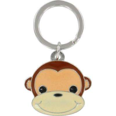 3D Monkey Key Chain (3-Pack)