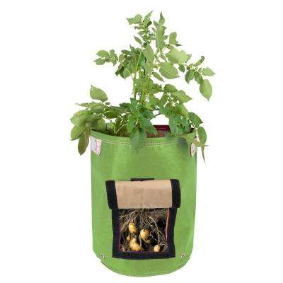 BloemBagz Potato Vegetable Planter Grow Bag 9 Gallon Honey Dew