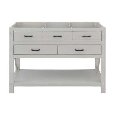 Avondale 48 in. W x 22 in. D Vanity Only in Grey