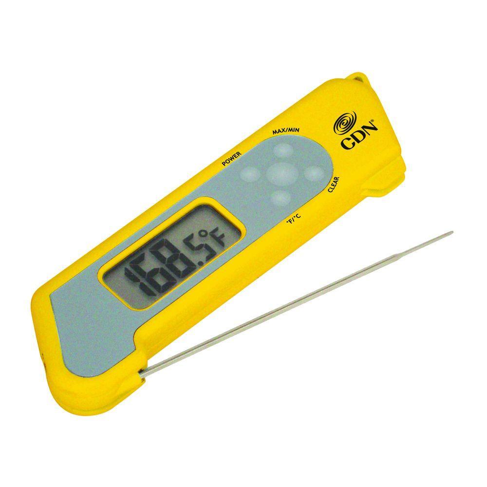 CDN ProAccurate Yellow Digital Food Thermometer