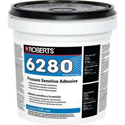 6280 1 Gal. Pressure Sensitive Adhesive for Carpet and Vinyl Flooring