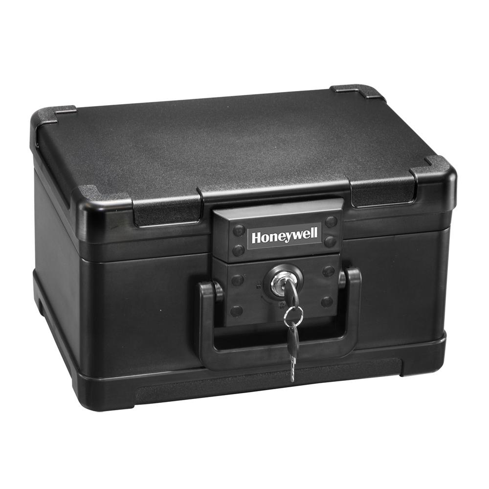 Fireproof Security Lock Box Fire Safe Chest Waterproof File Storage Case w// Keys