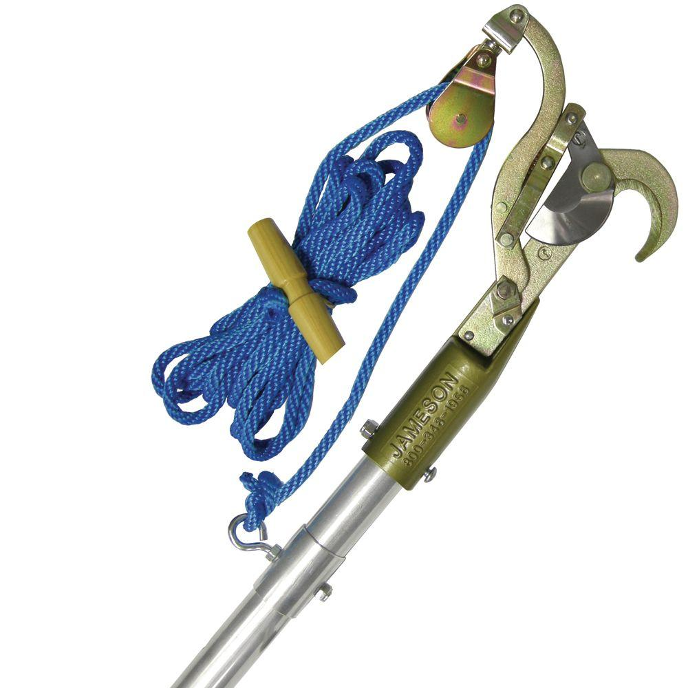 Jameson JA-14 1.25 in. Swivel Pulley Pruner with Adapter and Rope