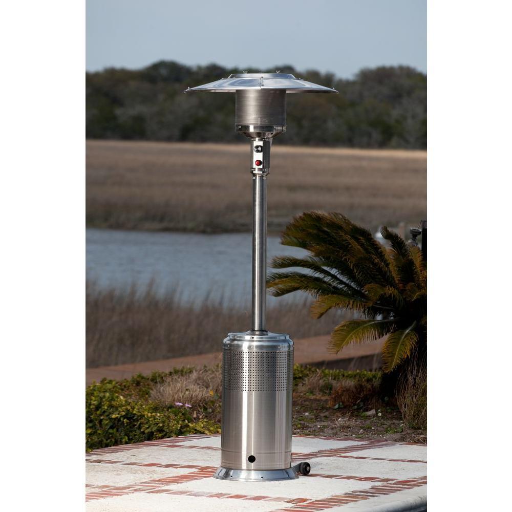 Pro Series 46,000 BTU Stainless Steel Propane Gas Patio Heater