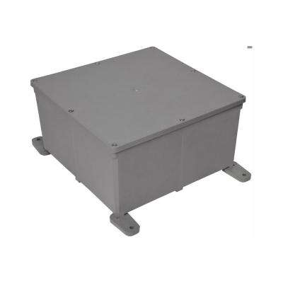 12 in. x 12 in. x 6 in. PVC Junction Box (Case of 2)