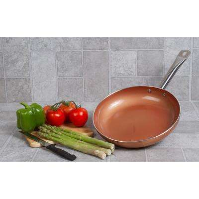 10 in. Copper Nonstick Frying Pan