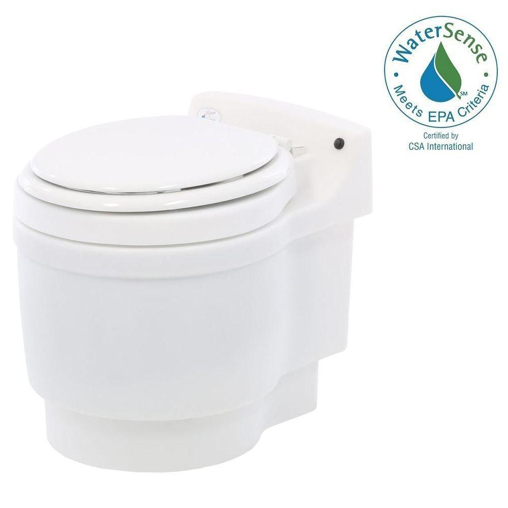 Dry Flush Chemical Free Odorless Portable Lightweight Electric Waterless Toilet