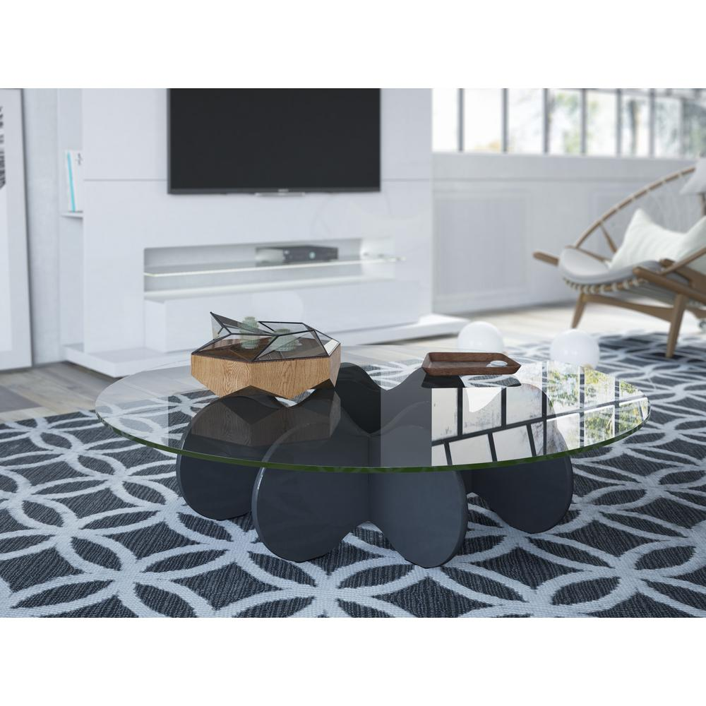 Waverly Black Coffee Table