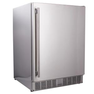 Click here to buy Maxx Cold 5.0 cu. ft. Built-In Outdoor Refrigerator in Stainless Steel by Maxx Cold.