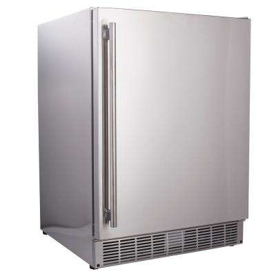 5.0 cu. ft. Built-In Outdoor Refrigerator in Stainless Steel