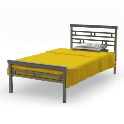 Sentinel Matt Dark Grey Twin Size Kids Bed