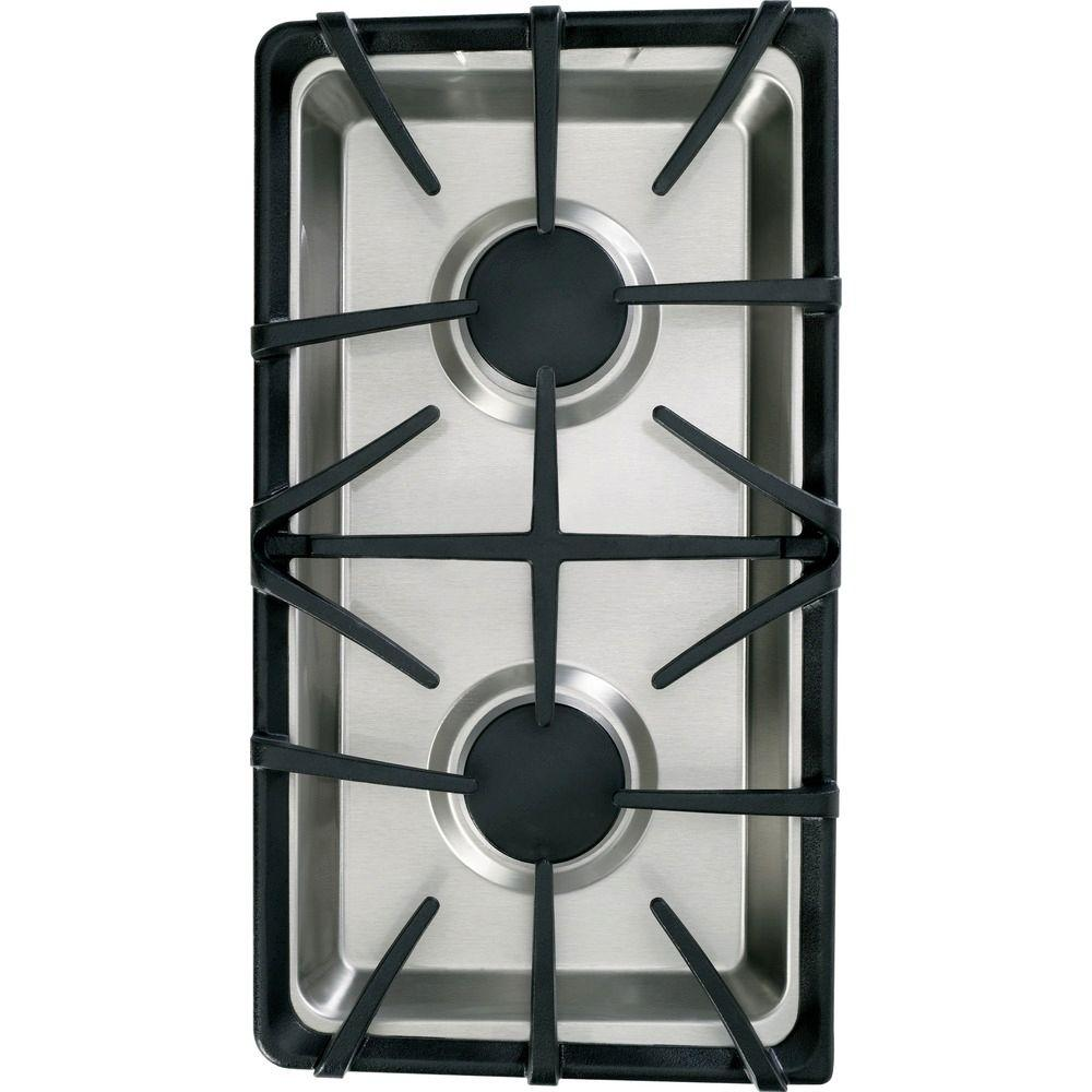 GE 30 in. Gas Modular Cooktop in Stainless Steel with 2 Burners