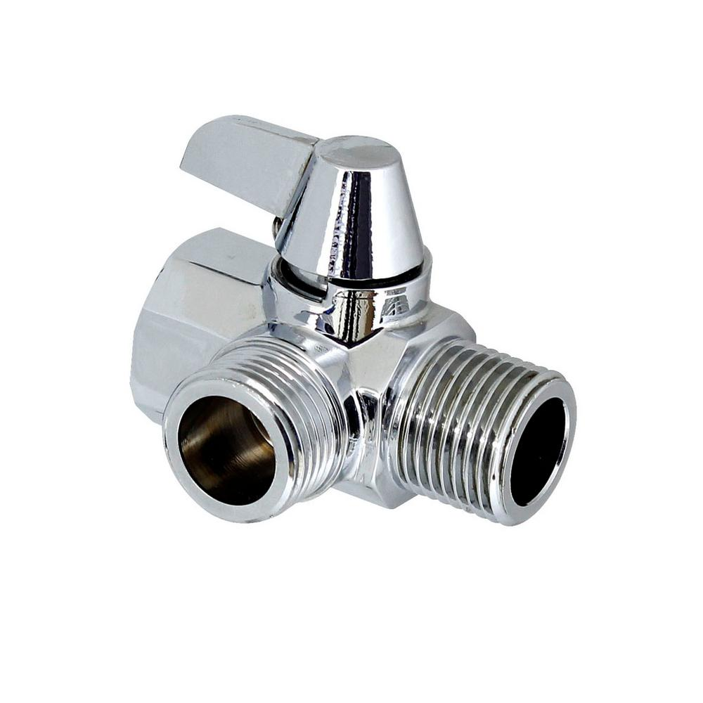 Shower Arm to Shower Hose Diverter Valve - Made of Solid