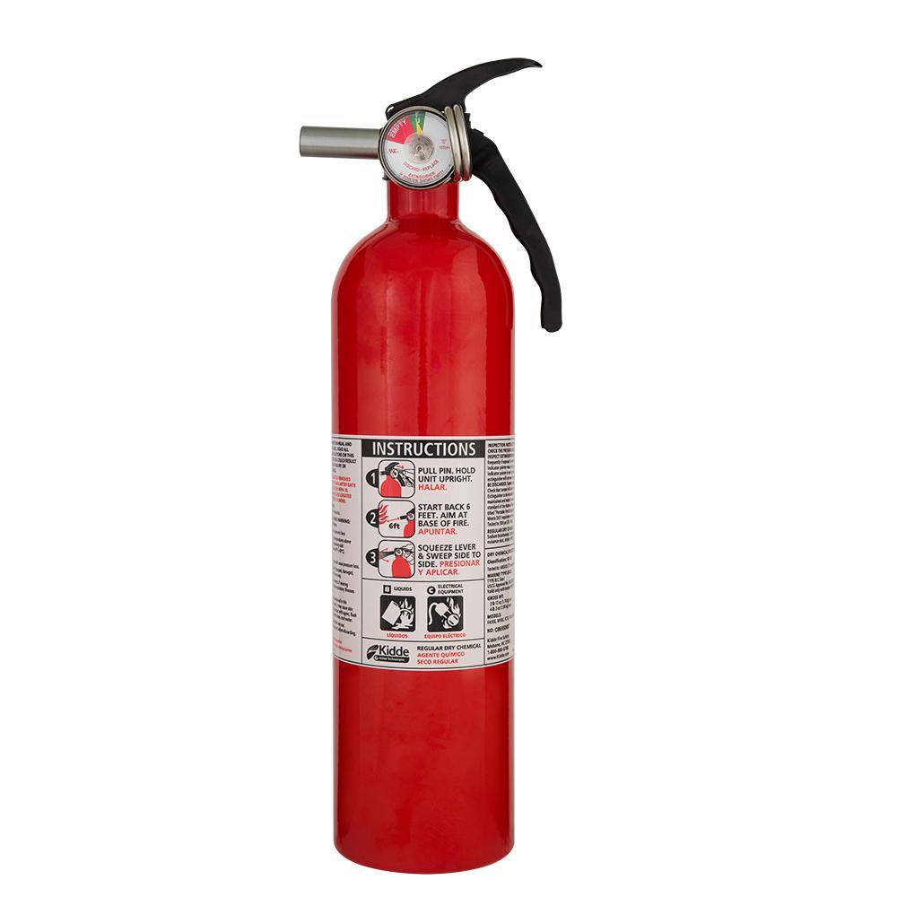 Kidde 1 A 10 B C Recreational Fire Extinguisher