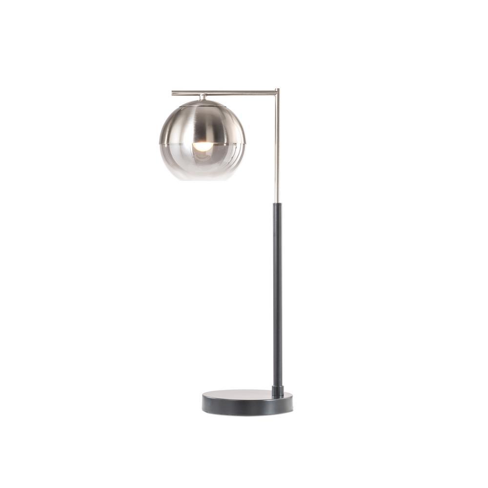 NOVA of California Orson Table Lamp Brushed Nickel