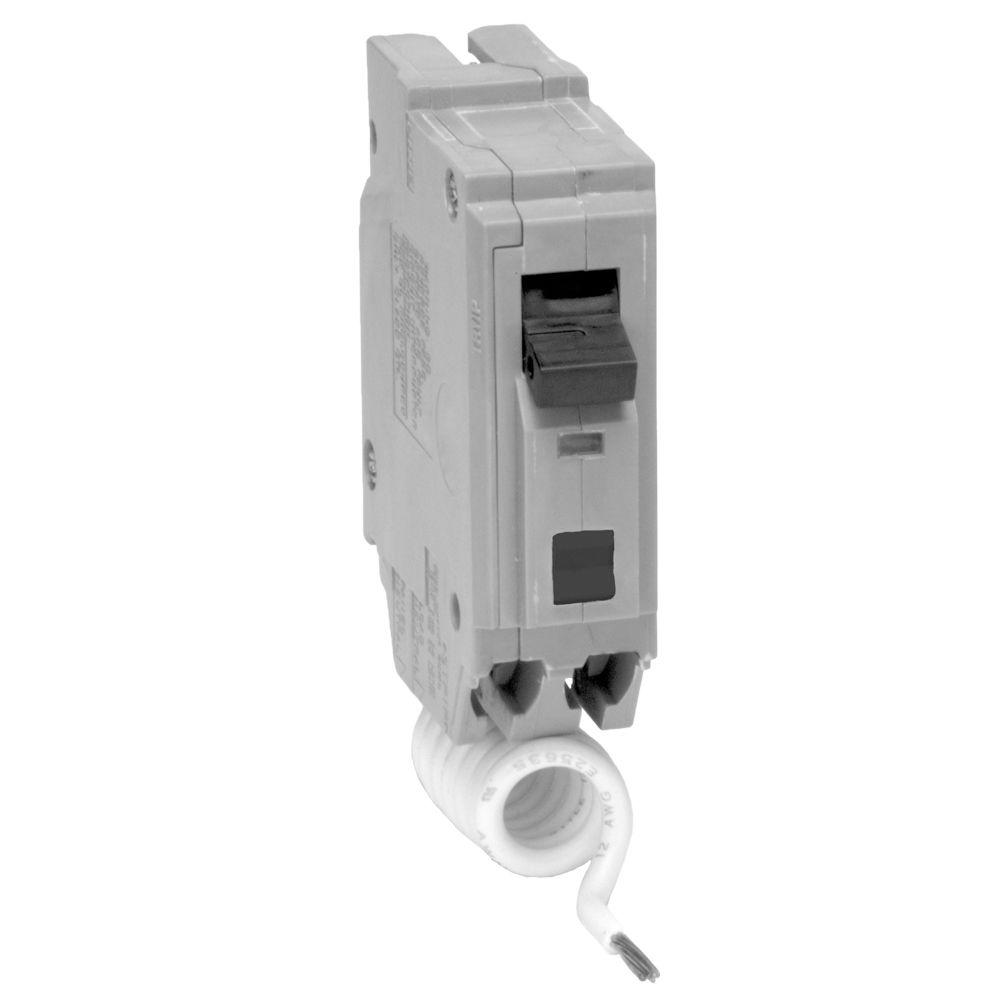 Eaton Br 20 Amp Single Pole Circuit Breaker Br120 The Home Depot Shop Square D Qo 20amp Singlepole At Lowescom 1 In Afci