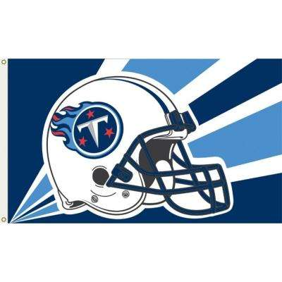 3 ft. x 5 ft. Polyester Tennessee Titans Flag