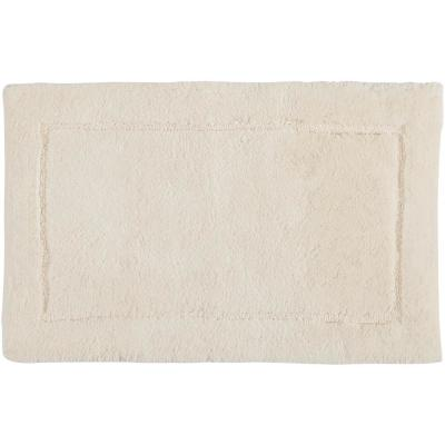 Regency Parchment 1 ft. 9 in. x 2 ft. 10 in. Cotton Bath Rug